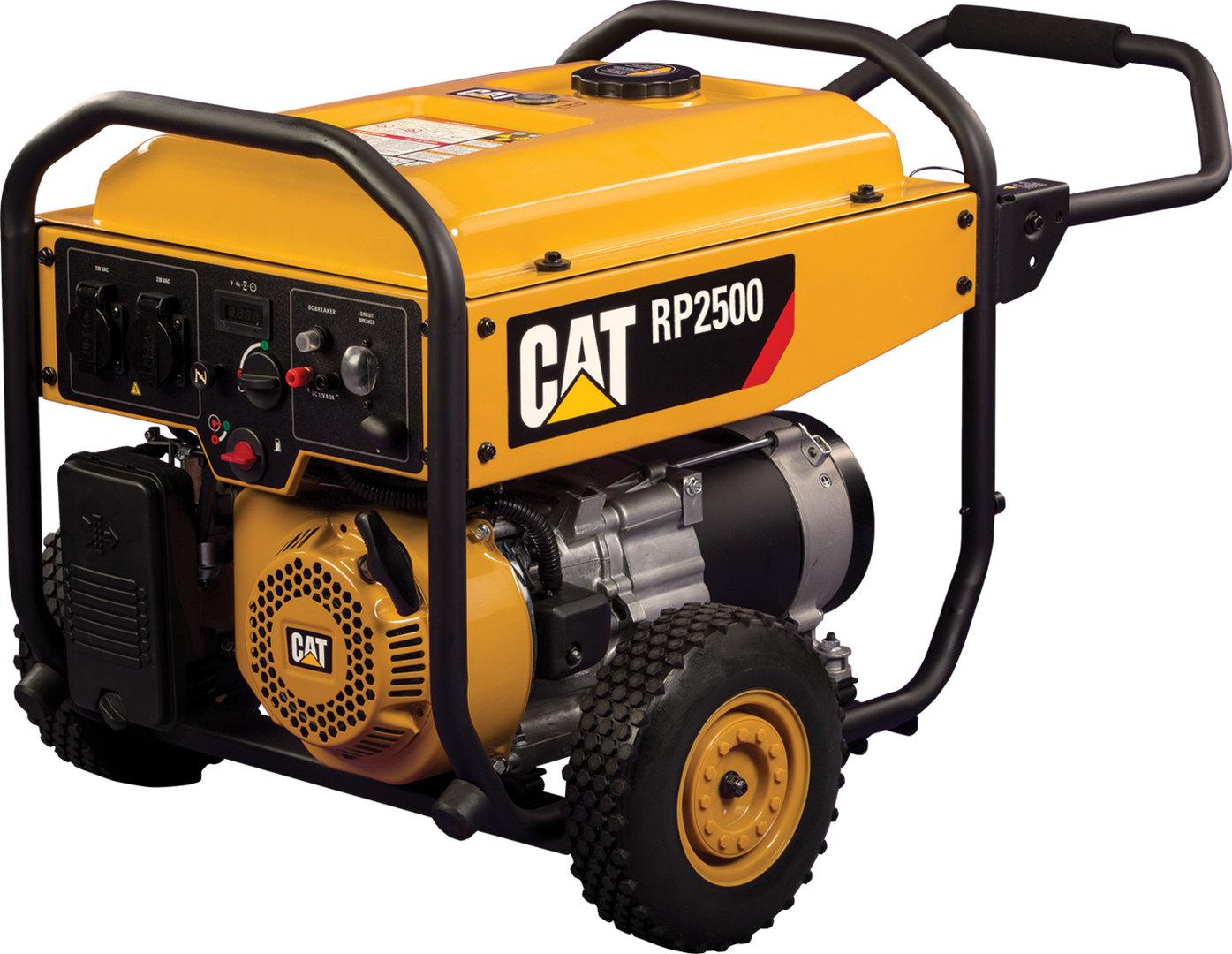 Rp2500 generador caterpillar 2 5 kw con ruedas - Generadores electricos pequenos ...